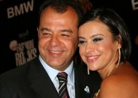 Sergio Cabral e Adriana Ancelmo em clima de romance na prisão