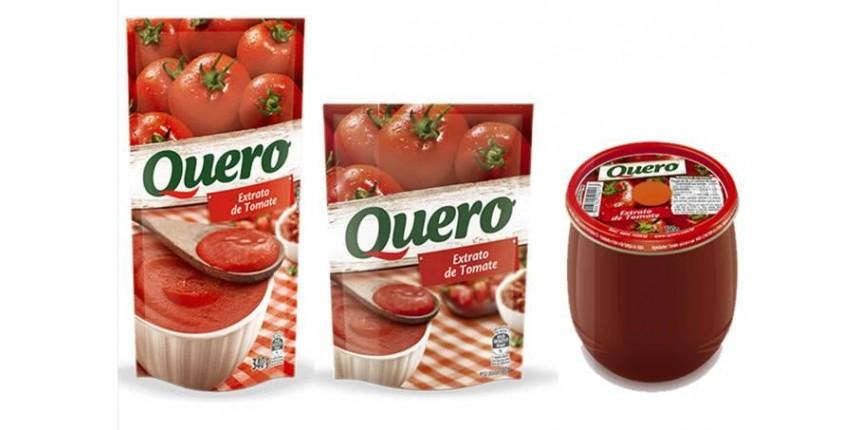 Anvisa proíbe lote de extrato de tomate Quero com pelo de roedor