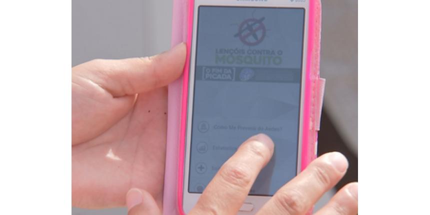 Aplicativo de celular ajuda no combate contra dengue