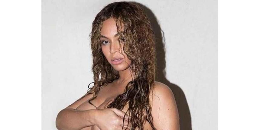 Beyoncé faz ensaio nu da gravidez de gêmeos e quebra internet