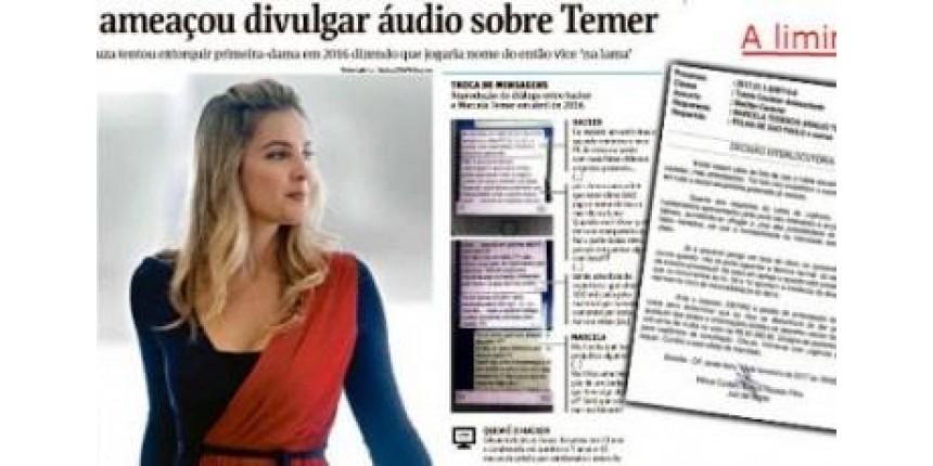 Entidades criticam censura à reportagem sobre Marcela Temer