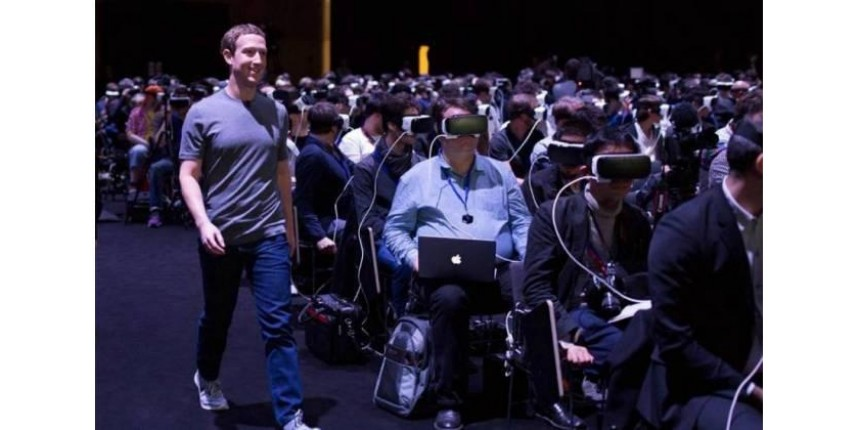 Facebook está tomando o controle da Internet