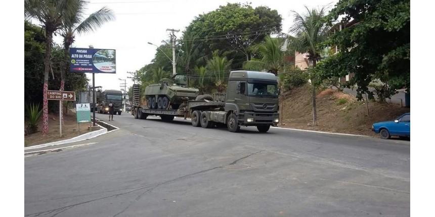 Ministério da Defesa envia mais 550 militares das Forças Armadas para o ES