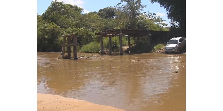 MP investiga caso de crianças que estão sem ir à aula após ponte quebrar