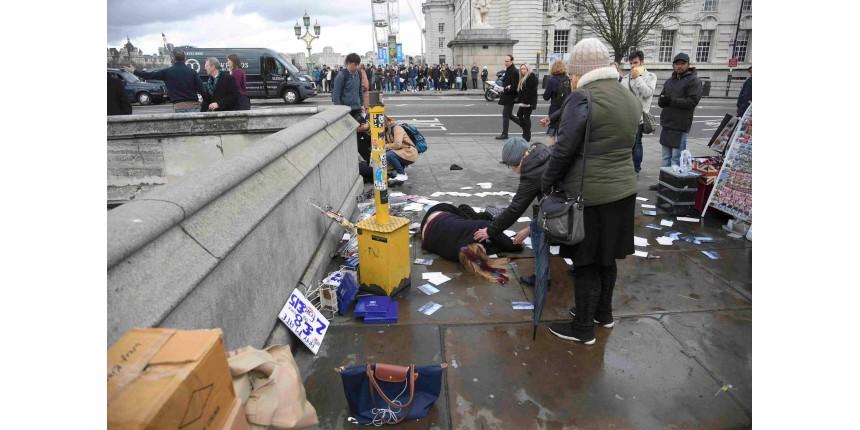 Ataque perto do Parlamento britânico em Londres deixa 5 mortos, incluindo suspeito