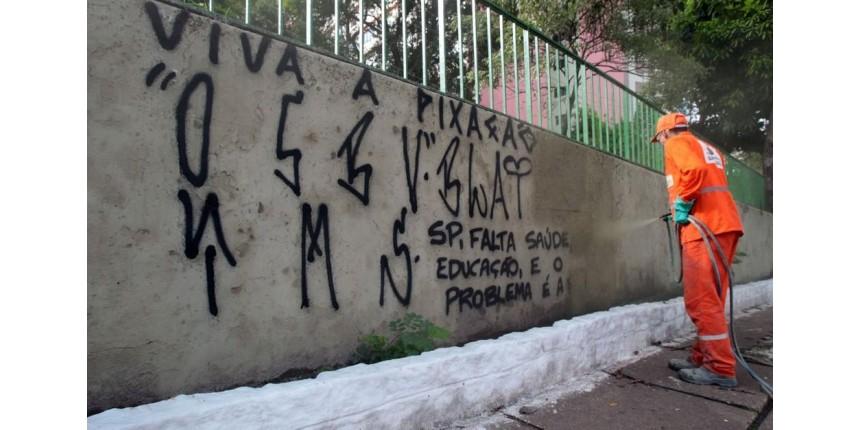Estudante é detida e será a primeira a pagar multa por pichação após regulamentação da Lei Cidade Linda