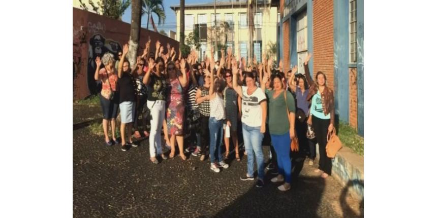 Funcionários terceirizados do ensino estadual em Marília entram em greve