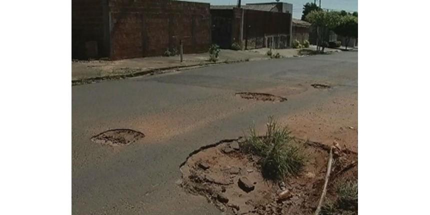 Marília tem um buraco para cada três moradores, aponta levantamento
