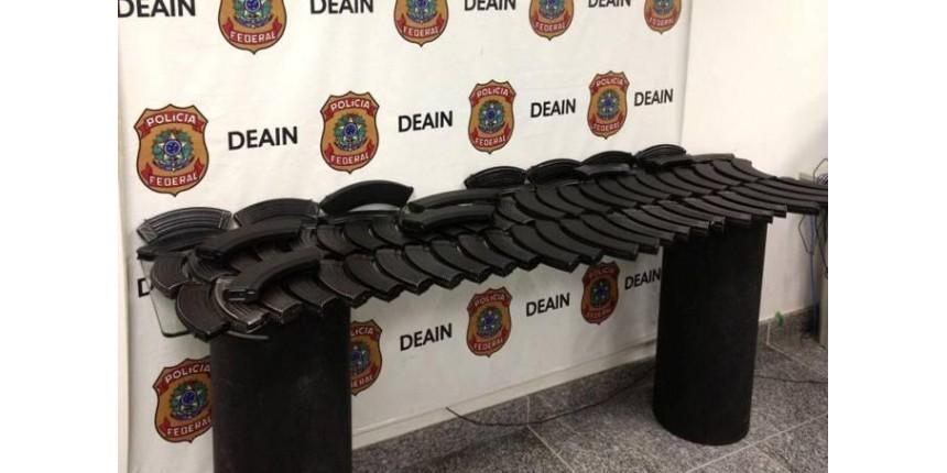 Tráfico do Rio usava Correios para receber peças de fuzil AK-47