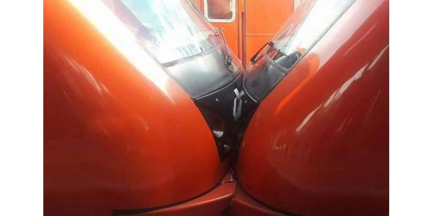Trens colidem na Linha 8-Diamante da CPTM e seis ficam feridos