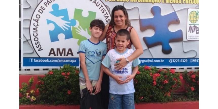'É um desafio diário', diz mãe de duas crianças autistas