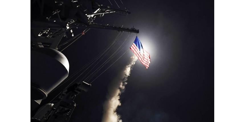 EUA bombardeiam alvo de Assad na Síria