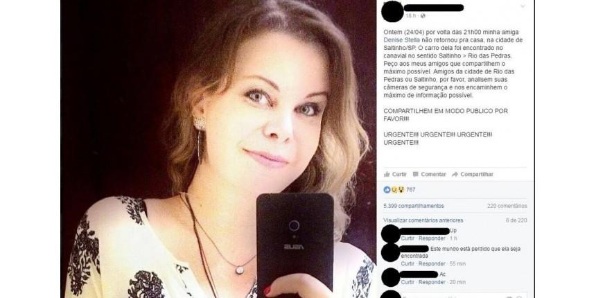 Grávida, designer é morta por amante após se recusar a fazer aborto no interior de SP, diz polícia