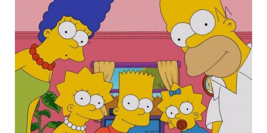 Há uma explicação científica para os Simpsons serem amarelos