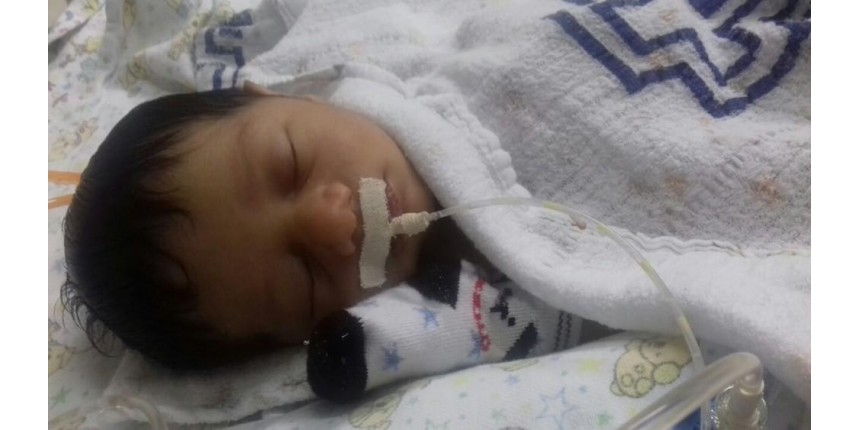 Recém-nascido com malformação no coração tem alta um mês após cirurgia: 'Recuperar o tempo perdido', diz mãe