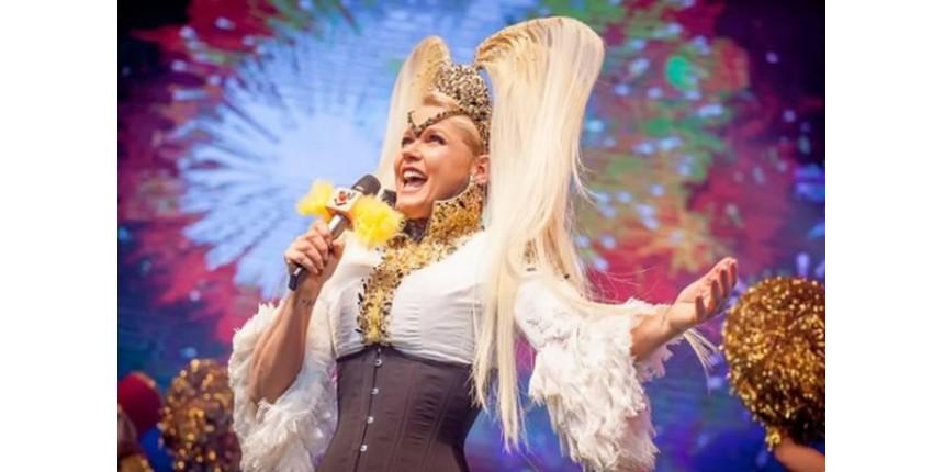 Xuxa abandona palco durante homenagem em seu show