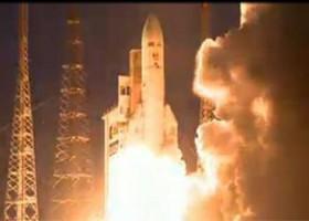 Brasil lança satélite para ampliar banda larga
