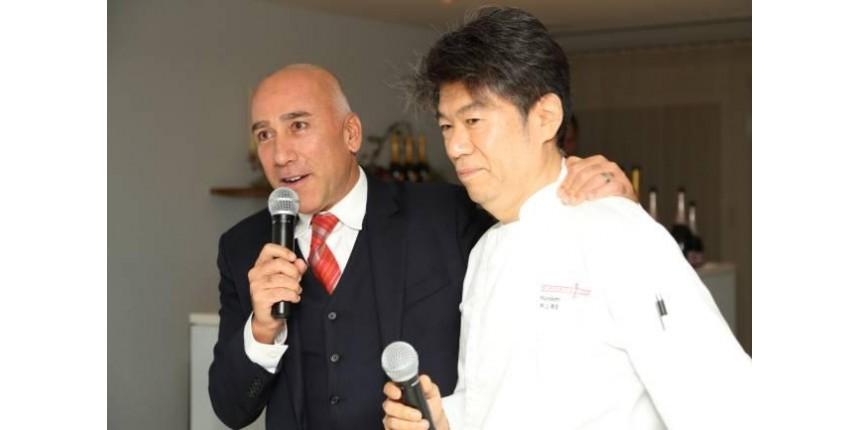 Dono do Kinoshita dá palestra em feira gastronômica no Japão
