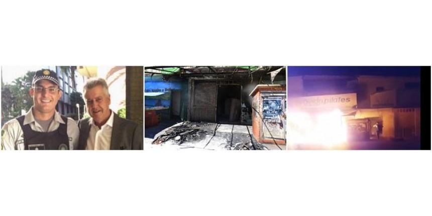 Governador quer promover por ato de bravura policial militar que salvou 20 moradores de incêndio
