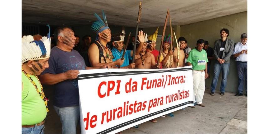 Índios são barrados na sessão marcada para votar relatório final da CPI da Funai