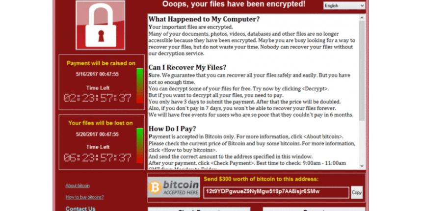 Mundo Ataque hacker em escala global atinge 99 países
