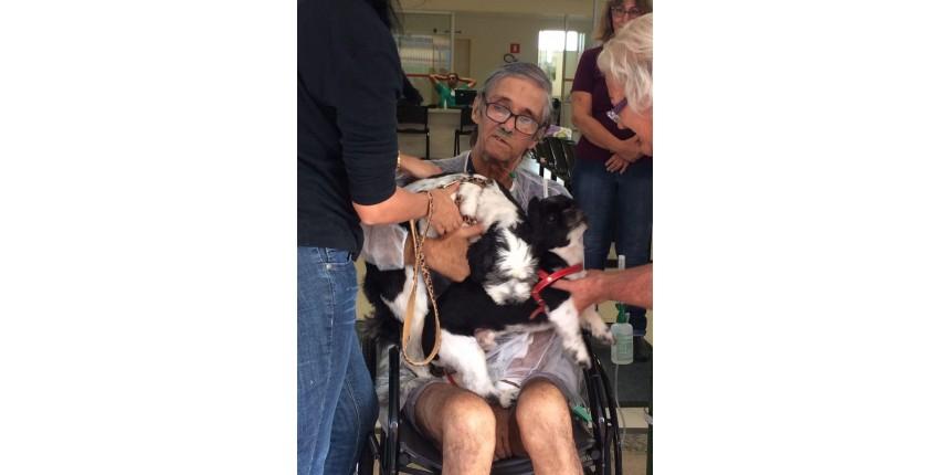 Paciente em estado crítico se despede de seus cães