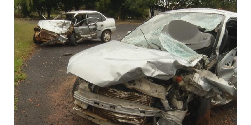 Quatro idosos morrem em colisão frontal em rodovia