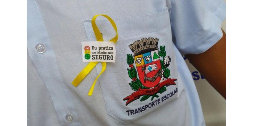Secretaria Municipal da Educação de Marília adere à campanha 'Maio Amarelo'