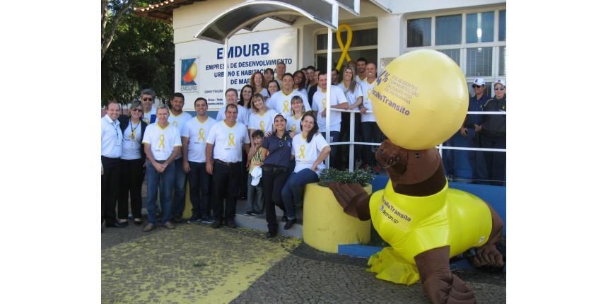 SUCESSO A PRIMEIRA AÇÃO MAIO AMARELO