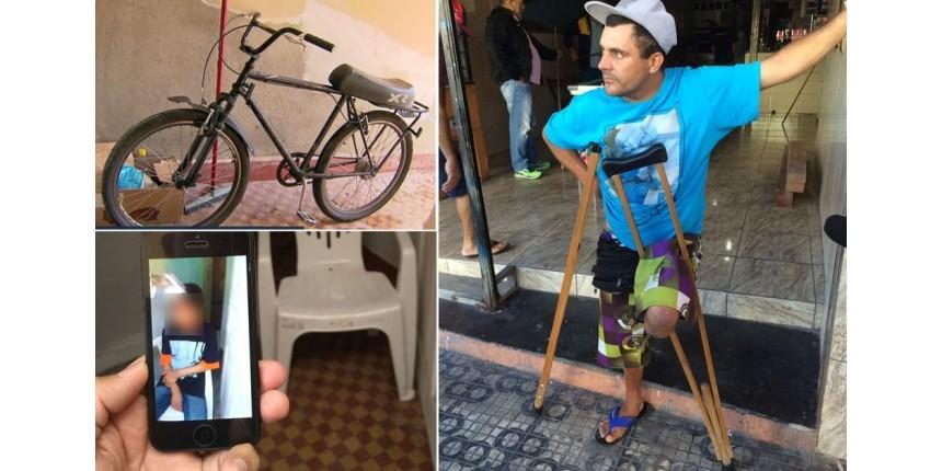 Deficiente dono de bicicleta condena tatuagem em testa de adolescente: 'Não consegui dormir'