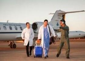 Em um ano, FAB transporta 275 órgãos para transplante