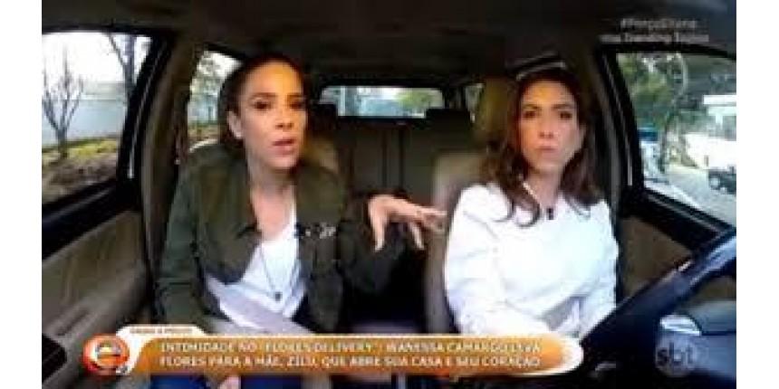 Detran alerta Patricia Abravanel e Wanessa por uso de cinto