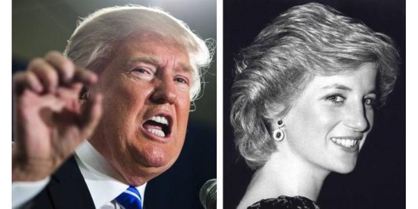 Áudio antigo mostra Trump dizendo que gostaria de ter dormido com a princesa Diana