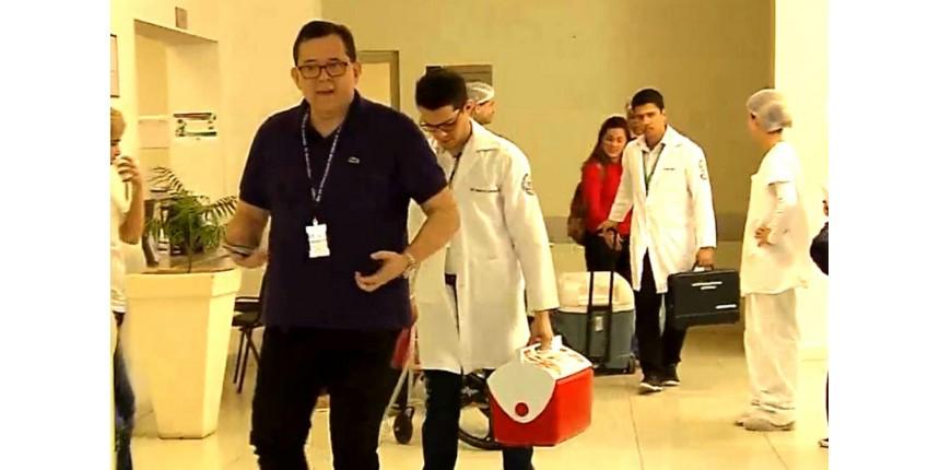 Doação de órgãos de jovem morto mobiliza 'exército' de médicos