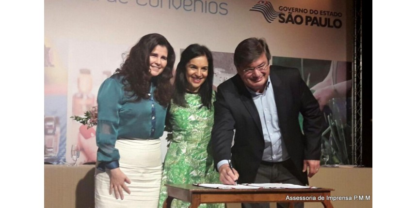 Fundo Social: Convênio para Polo de Padaria Artesanal, Escola de Moda e Beleza, Horta Educativa