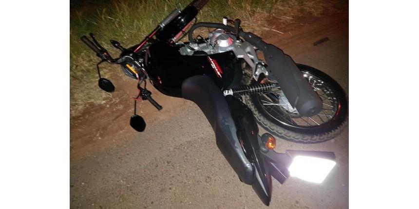 Jovem de 22 anos morre após cair da moto e ser atropelado
