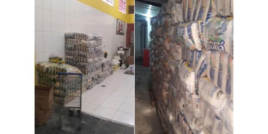 Supermercado seria inaugurado com 16 toneladas de produtos roubados; dono foi preso