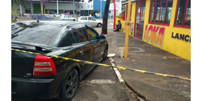 Três suspeitos de furto são presos após perseguição policial