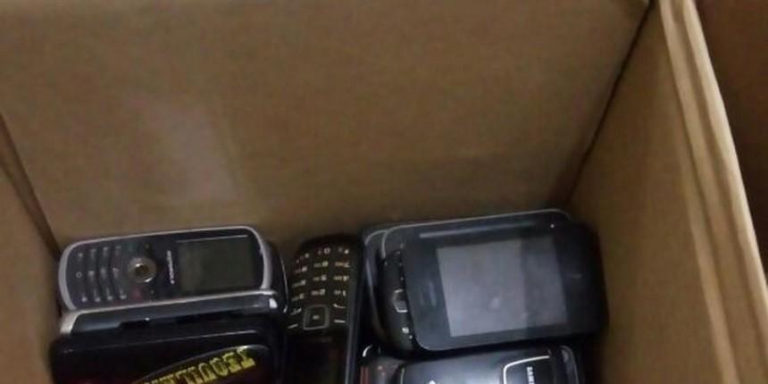 Dupla tenta invadir penitenciária com mais de 100 celulares