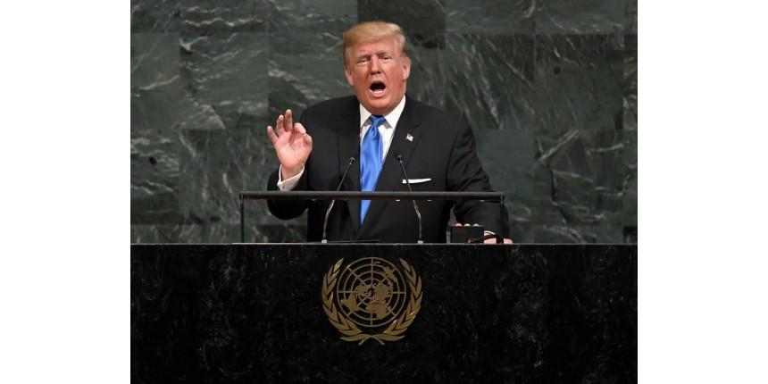 EUA não terão escolha a não ser 'destruir totalmente' a Coreia do Norte, diz Trump na ONU