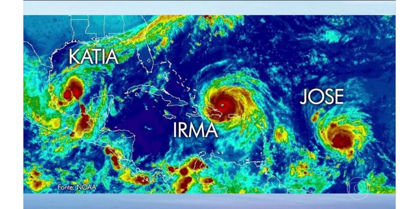 Furacão Irma atinge o Caribe - FOTOS