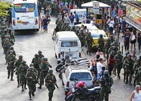 Rio em guerra: Forças Armadas iniciam operação de cerco à Rocinha