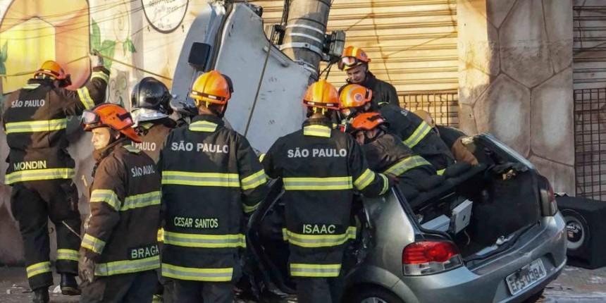 Número de socorridos por acidentes de trânsito em SP aumenta 18,9%