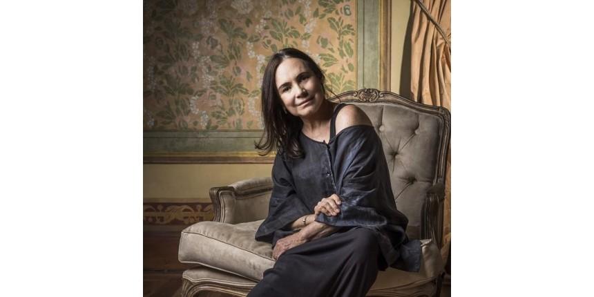 """""""Sou aquela expansiva incontrolável"""", diz Regina Duarte, aos 70 anos"""
