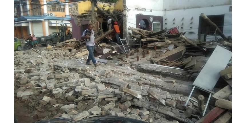 México sobe para 58 o número de mortos pelo terremoto no sul