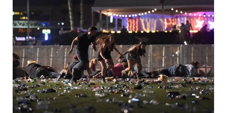 No maior ataque a tiros da história dos EUA, homem mata 58 e mais de 500 feridos em Las Vegas