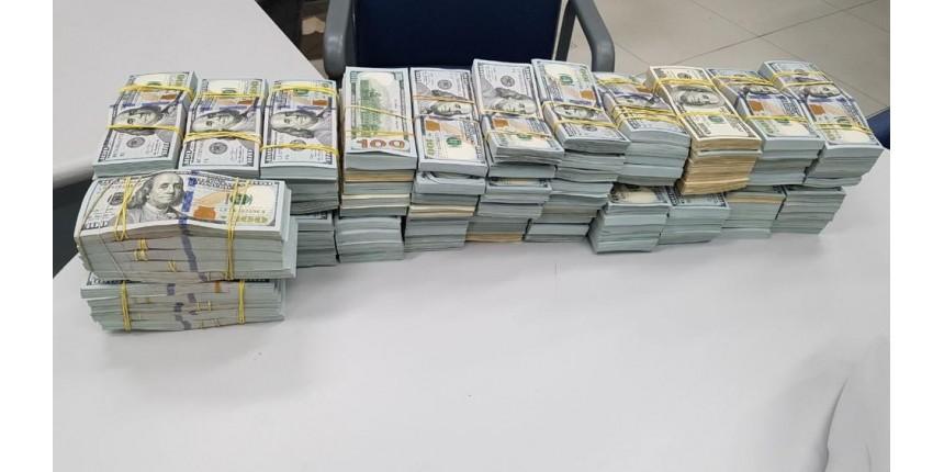 Caminhoneiro é preso com mais de R$ 10 milhões em espécie escondidos em carga, diz PRF