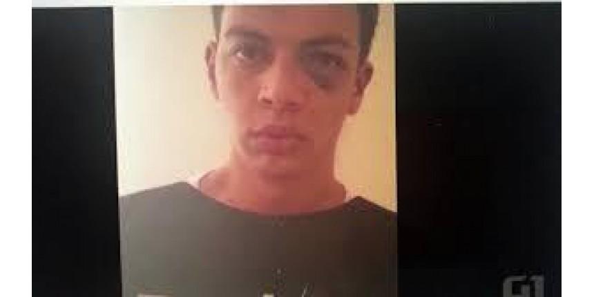 Assassino de aluna em escola de Goias aparece com olho roxo, volta atrás e diz que está arrependido