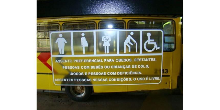 Passa a valer lei que torna todos assentos de ônibus e Metrô preferenciais no DF