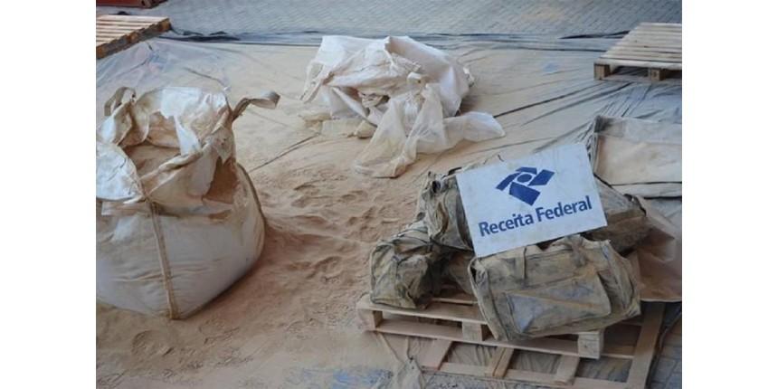 Receita faz maior apreensão de cocaína do ano Porto de Santos